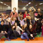 Flashmob : les enfants des Amandiers investissent la place Ménilmontant