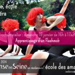 Atelier Danse aux Amandiers : Un Flash Mob pour inaugurer l'année 2014